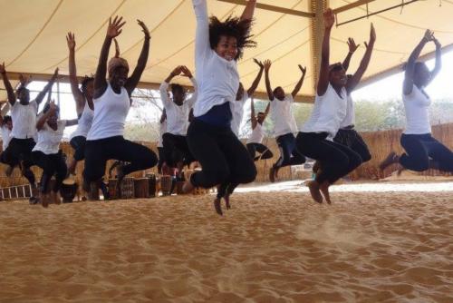 Dancing at École des Sables 2